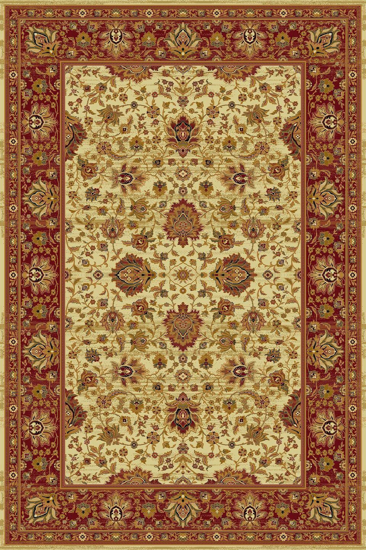 Tappeto, Design orientale, 200x300 cm, 100 Lana, beige