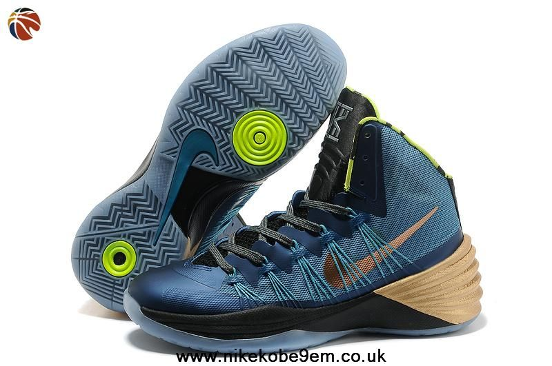 reputable site ea265 e2dbf New Kyrie Irving Nike Hyperdunk 2013 Mineral Teal   Metallic Red Bronze    Volt Factory Outlet