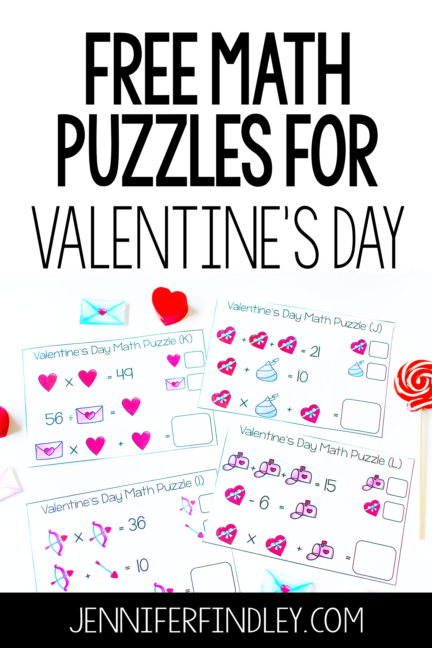 Free Math Puzzles For The Entire Year
