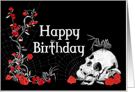 Gothic Birthday Cards From Greeting Happy Birthday Gothic Happy Birthday Skulls Happy Birthday Video