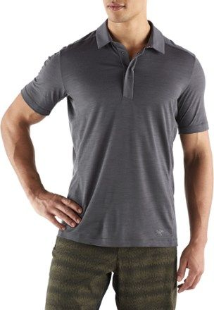 a9399f2374 Arc'teryx Men's A2B Polo Short-Sleeve Shirt Janus | Products | Men ...