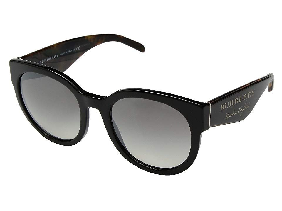 ac81afcb47 Burberry 0BE4260 (Black Gradient Grey Mirror Silver) Fashion Sunglasses.  Without saying a word you will be able to captivate all those around you  wearing ...