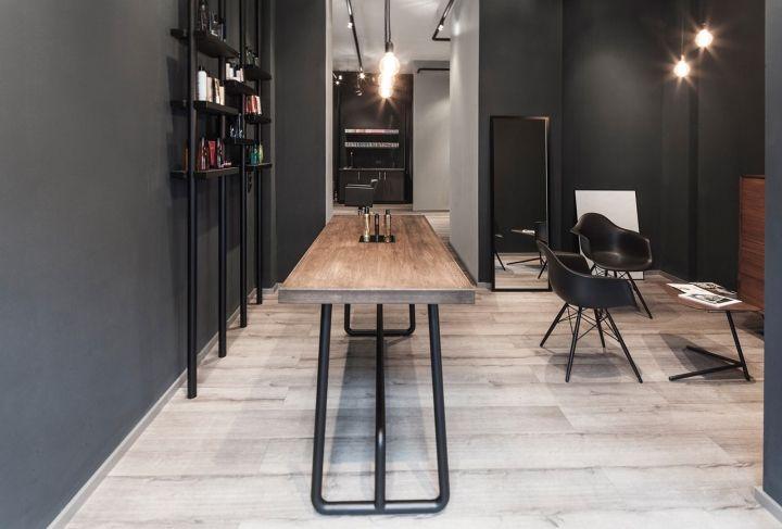 bailas contemporary coiffure hair salon by betty und betty. Black Bedroom Furniture Sets. Home Design Ideas