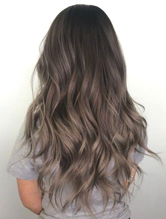 72 Trendy Haarfarbe Ideen für Brünette im Jahr 2019   Ecemella - #Brünette #Ecemella #für #Haarfarbe #Ideen #Jahr #trendy #balayagebrunette