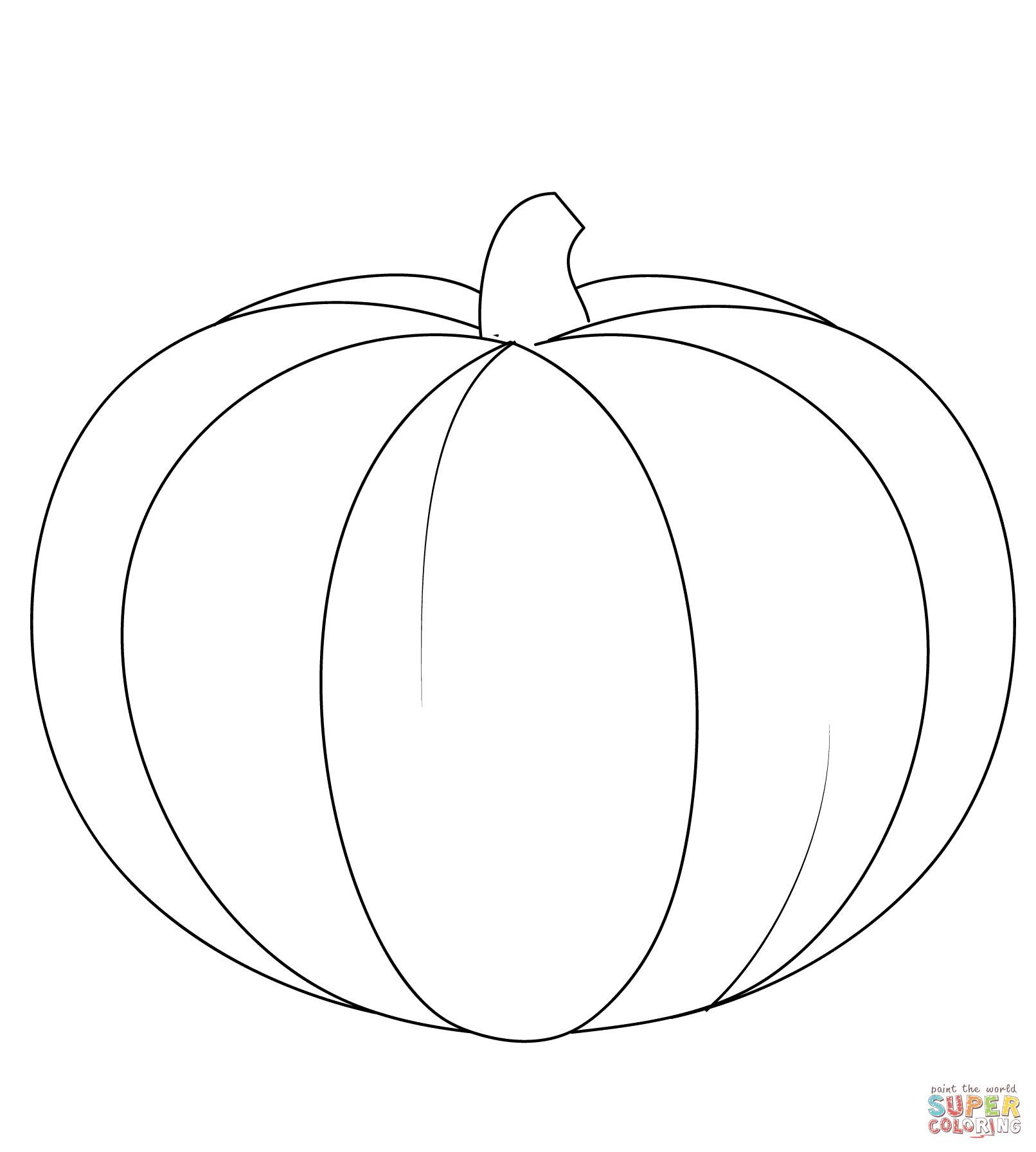 Pumpkin | Super Coloring | jesen | Pinterest | Craft
