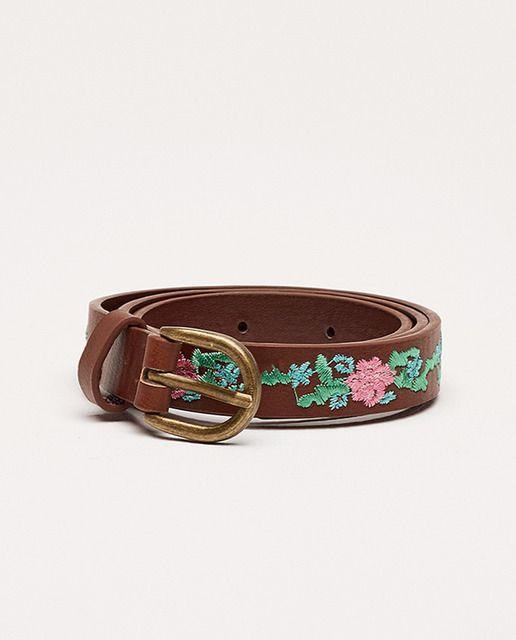 mejor baratas f11c9 0ac16 Cinturón de niña Sfera bordado | cinturones de Mujer ...