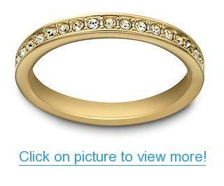 Swarovski Rare Ring Gold Plated Gold Rings Gold Rings