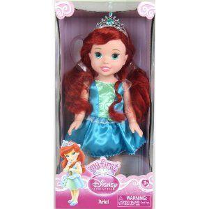 13 disney princess toddler doll ariel toys games love disney disney. Black Bedroom Furniture Sets. Home Design Ideas