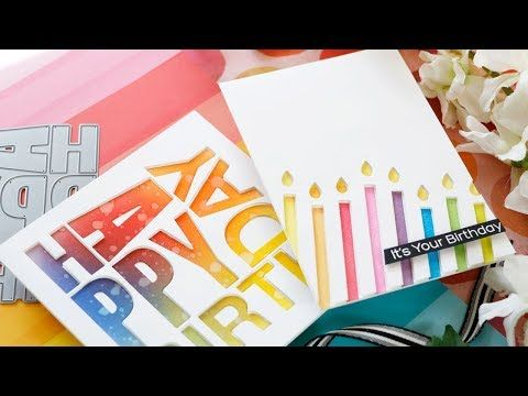 Creative Spark With Laura Bassen Creating Dimensional Birthday Cards