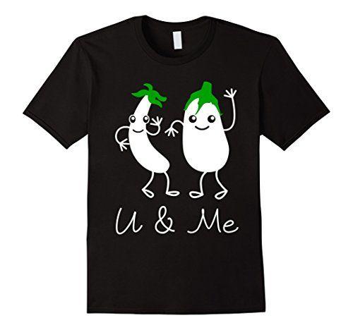 Men's You and Me Men Women T Shirt 2XL Black Bucksworthy