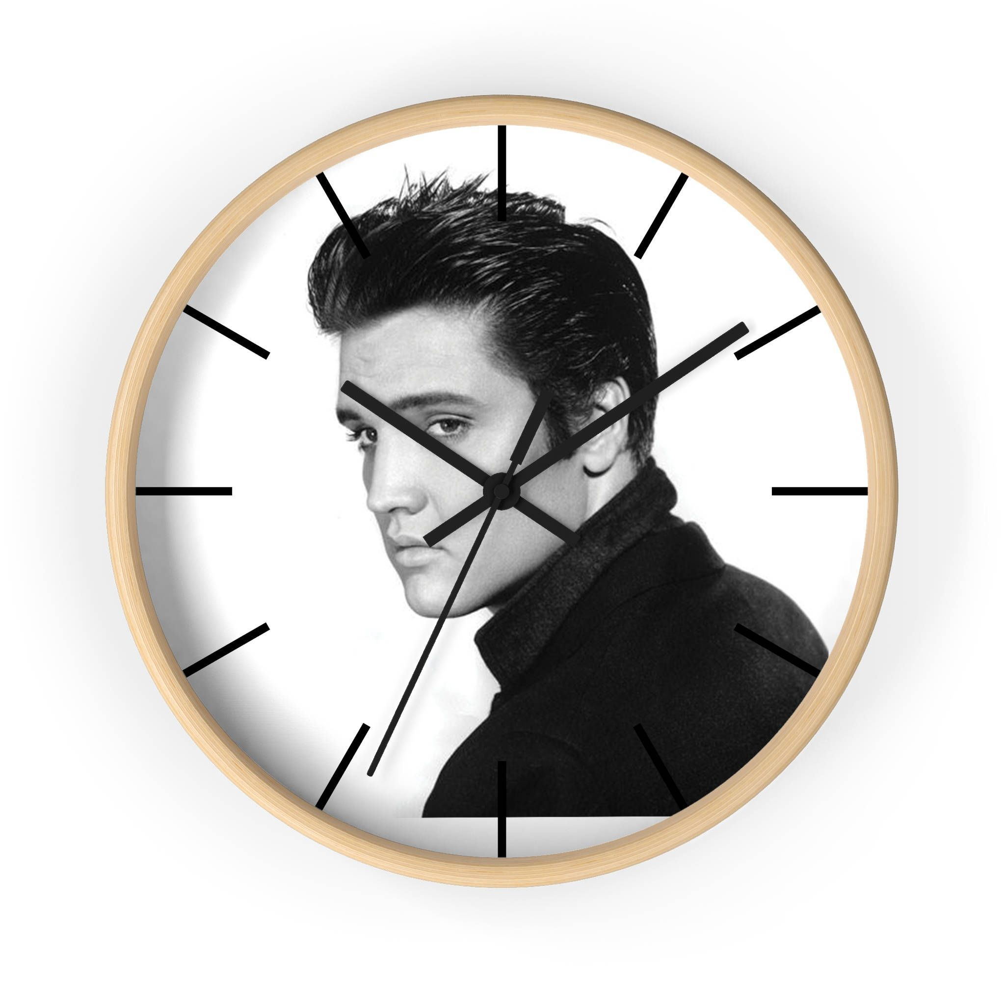 Elvis wall clock elvis presley clock personalized wall clock elvis wall clock elvis presley clock personalized wall clock christmas gift for her amipublicfo Images