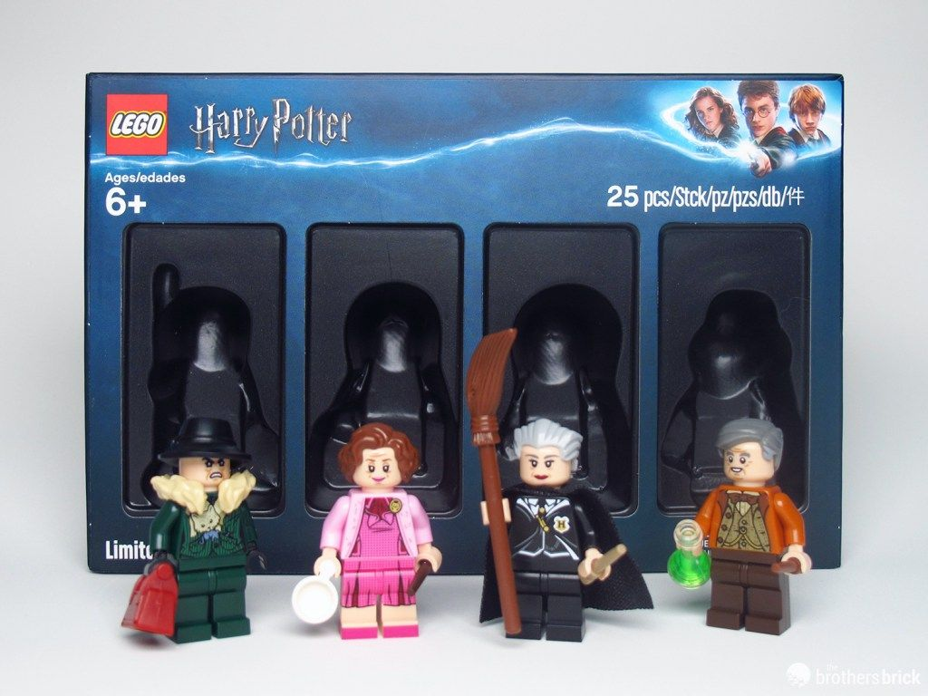 Lego 5005254 Harry Potter Bricktober 2019 Minifigure Exclusive Review The Brothers Brick Harry Potter Lego Figures Lego Harry Potter Harry Potter Lego Sets