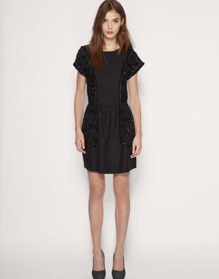 Reiss Sequin Black Dress An Education Pinterest Reiss Sequins