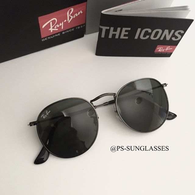 be2fa6d200 Ray-Ban RB3447 029 Round metal