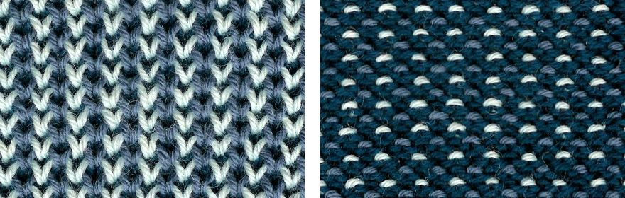 One Two And Three Color Honeycomb Brioche Knitting Stitch All