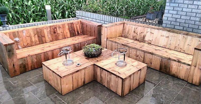 Pallet Furniture Store Wooden Pallet Weight Garden Furniture