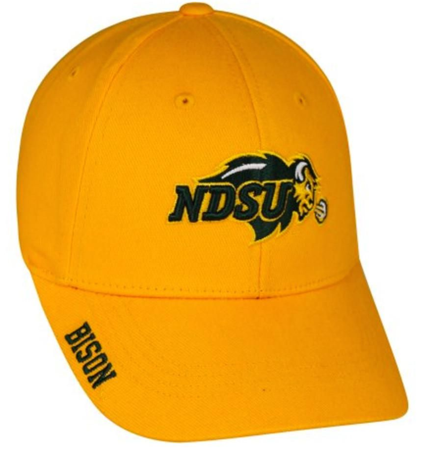 North dakota state ndsu bison adjustable cap hat choose