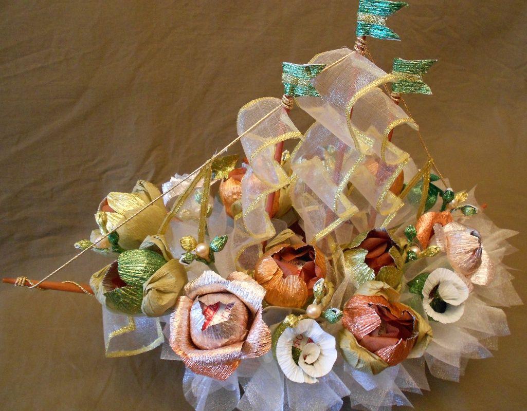 нас конфетный букет на свадьбу фото моста правой