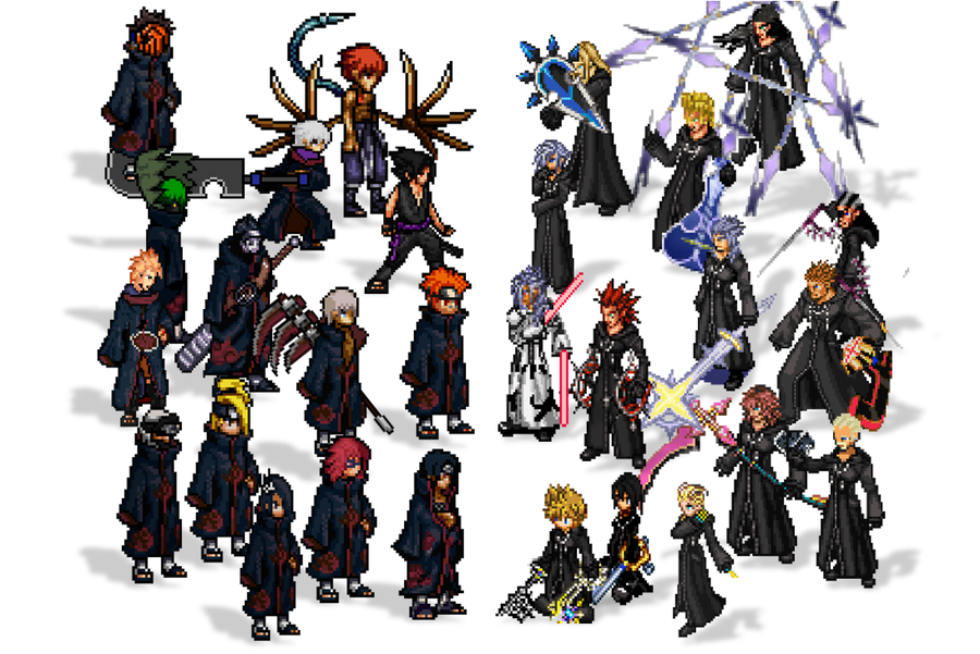 Organization XIII The World that Never Was by ryokia96 ...