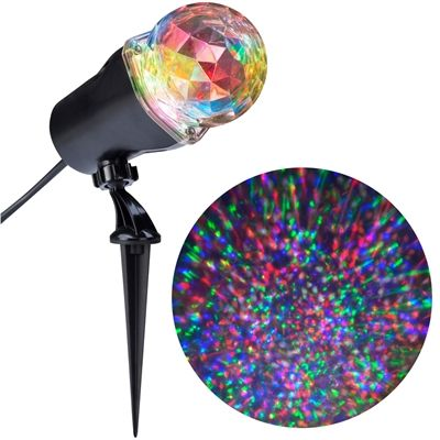 Gemmy Lightshow Swirling Multicolor Led Kaleidoscope