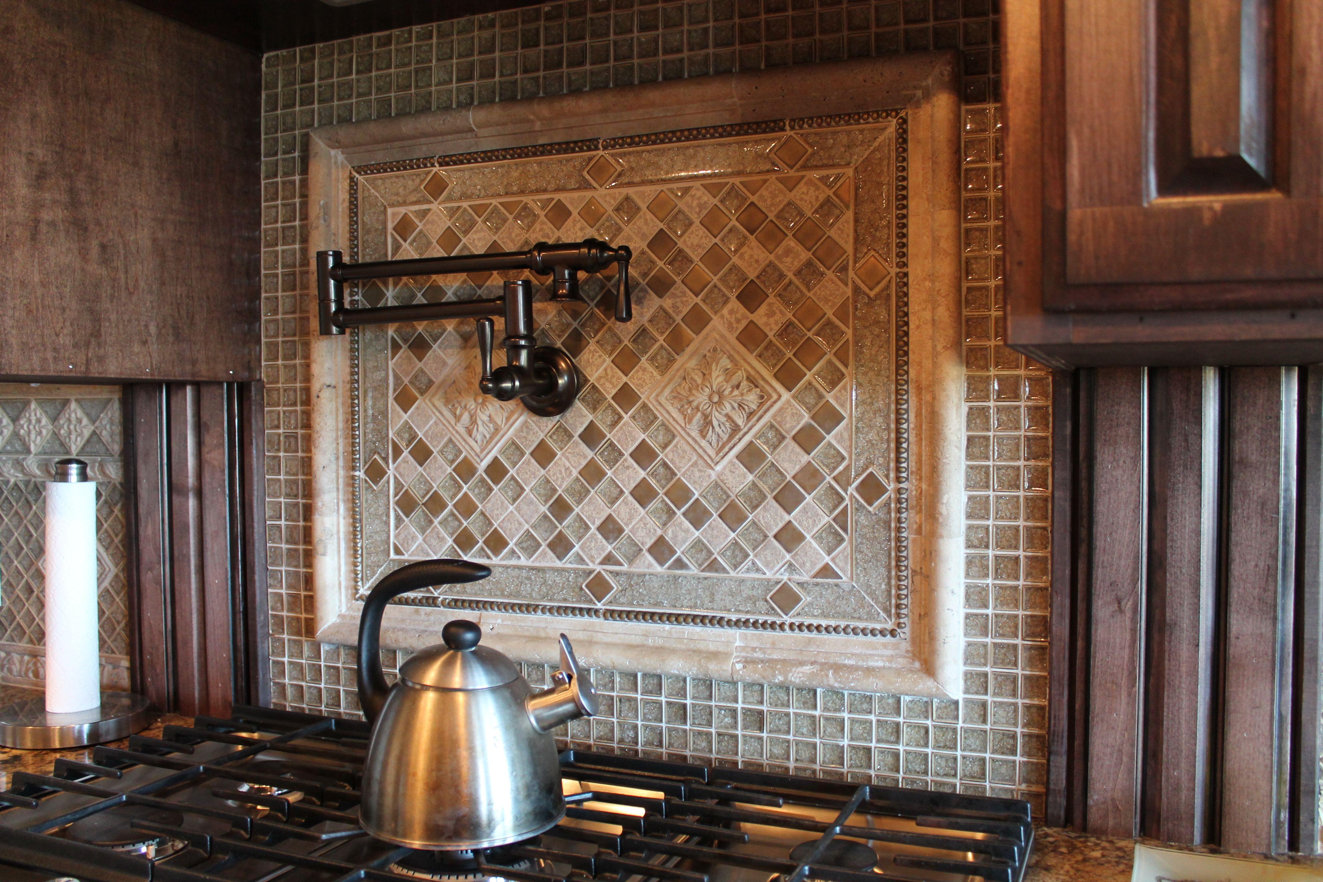 Gl And Ceramic Kitchen Backsplash Design By Tukasa Creations With Sonoma Tile
