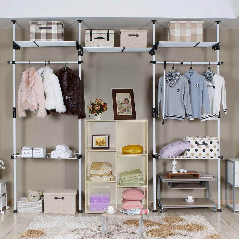 Closet Systems Ikea With Iron Basket