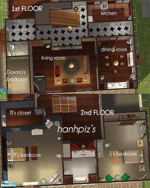 Floor Plan Of Blair Waldorfu0027s Apartment