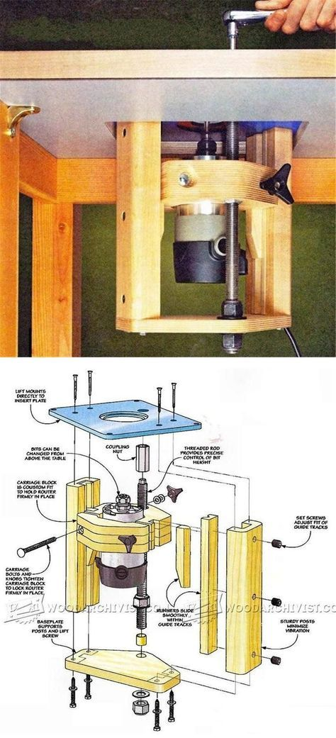 Router table lift plans router tips jigs and fixtures http router table lift plans router tips jigs and fixtures httpwoodarchivist keyboard keysfo Image collections