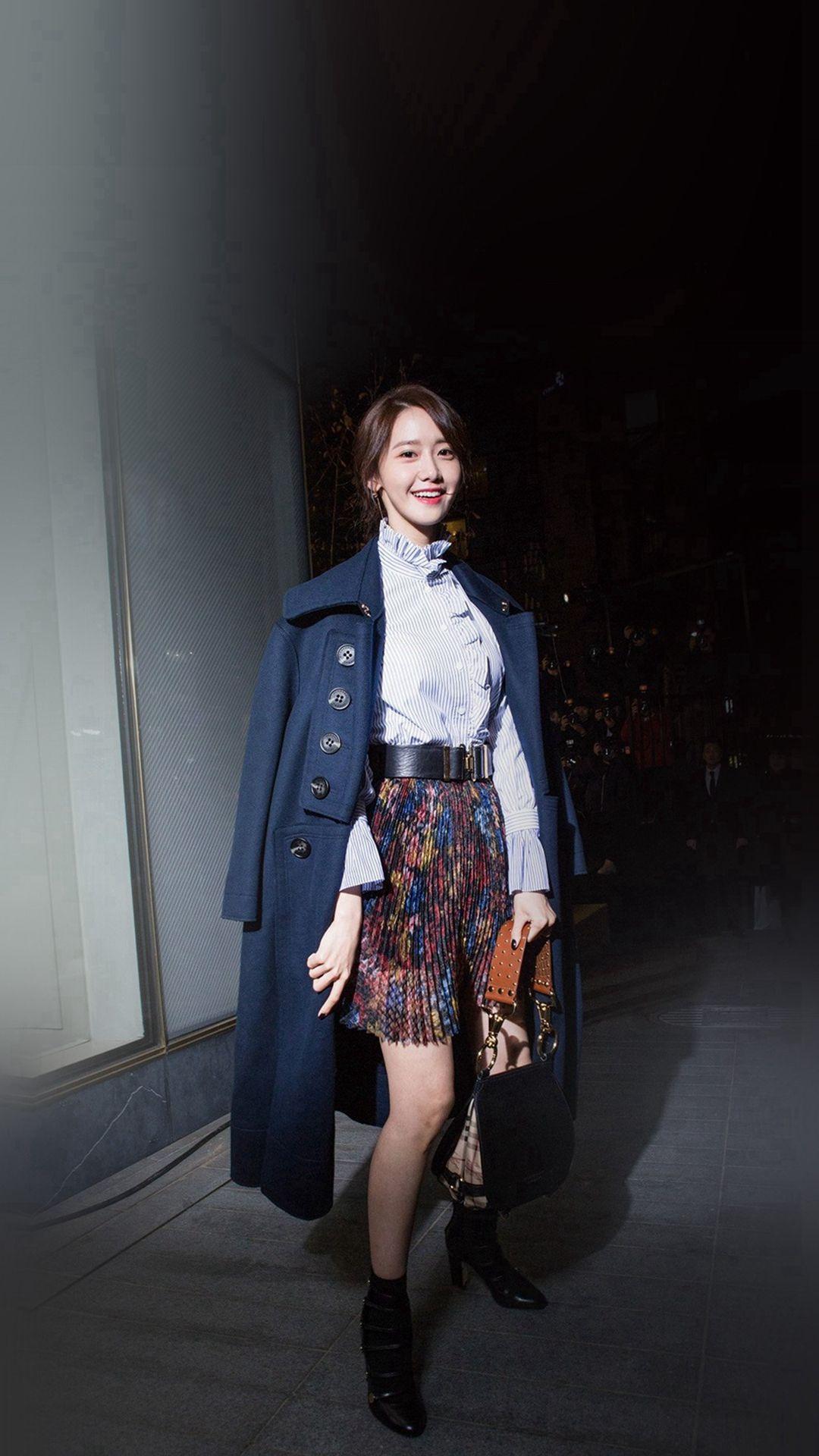 Kpop Snsd Yoona Smile Iphone 8 Wallpapers