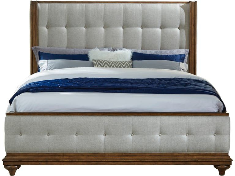 pulaski furniture carrington 5 0 uph bed headboard p081170 rh pinterest ca