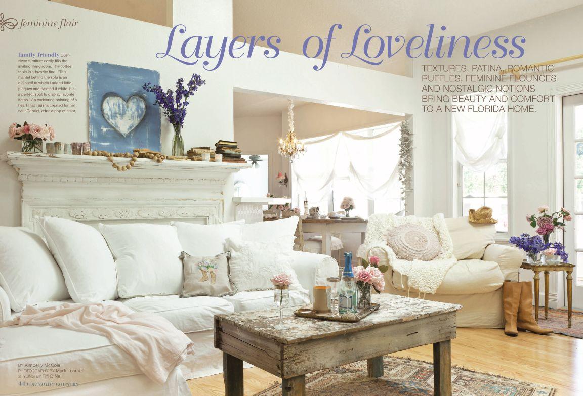 Remarkable Romantic Prairie Style Magazine Subscription Advertising Download Free Architecture Designs Lukepmadebymaigaardcom
