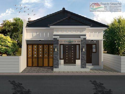 rumah minimalis lantai 1_modern house (8x14) - youtube in