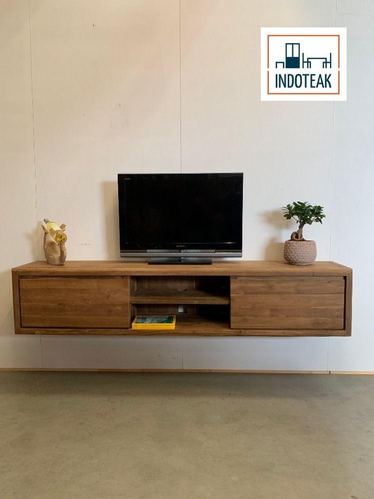 Indoteak Tv Kast.Het Perfecte Meubel Voor Een Moderne Uitstraling In Uw Woonkamer