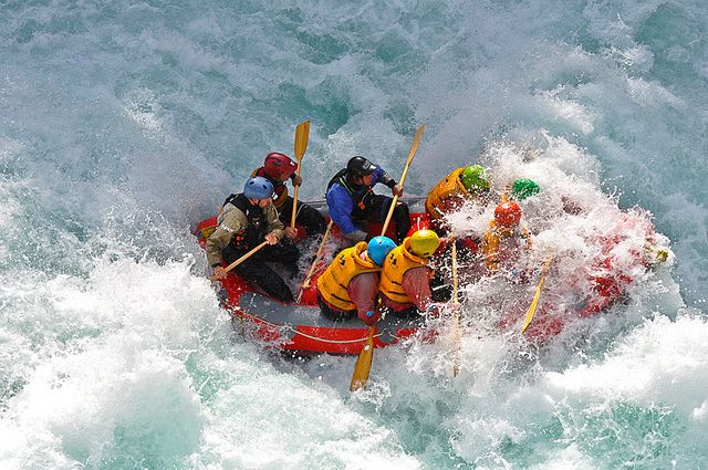 White-Water-Rafting-New-Zealand-7 by theplanetd, via Flickr