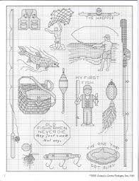 Resultado de imagem para bordado homem pescando pescador