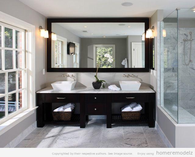 Bathroom vanity mirrors | bathroom ideas | Pinterest | Bathroom ...