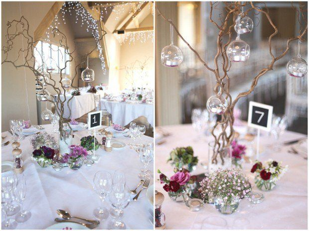 Winter Wedding Table Ideas Wedding Decor Ideas