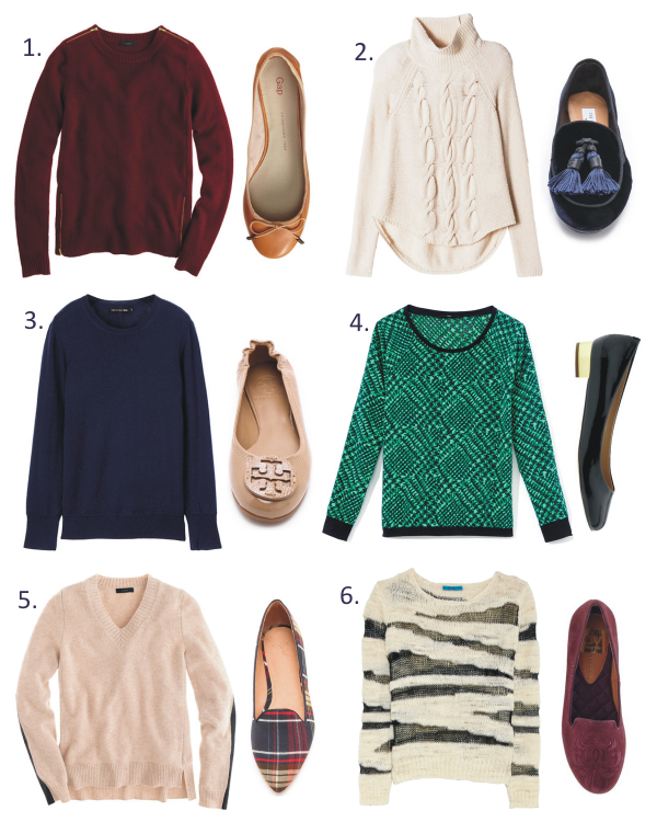 emma & anna: Must-Have Monday: Sweaters & Flats