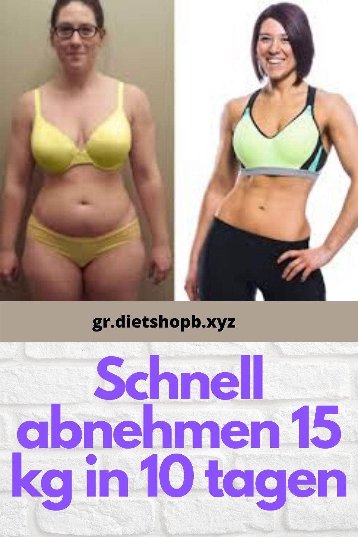 in 10 tagen 15 kilo abnehmen