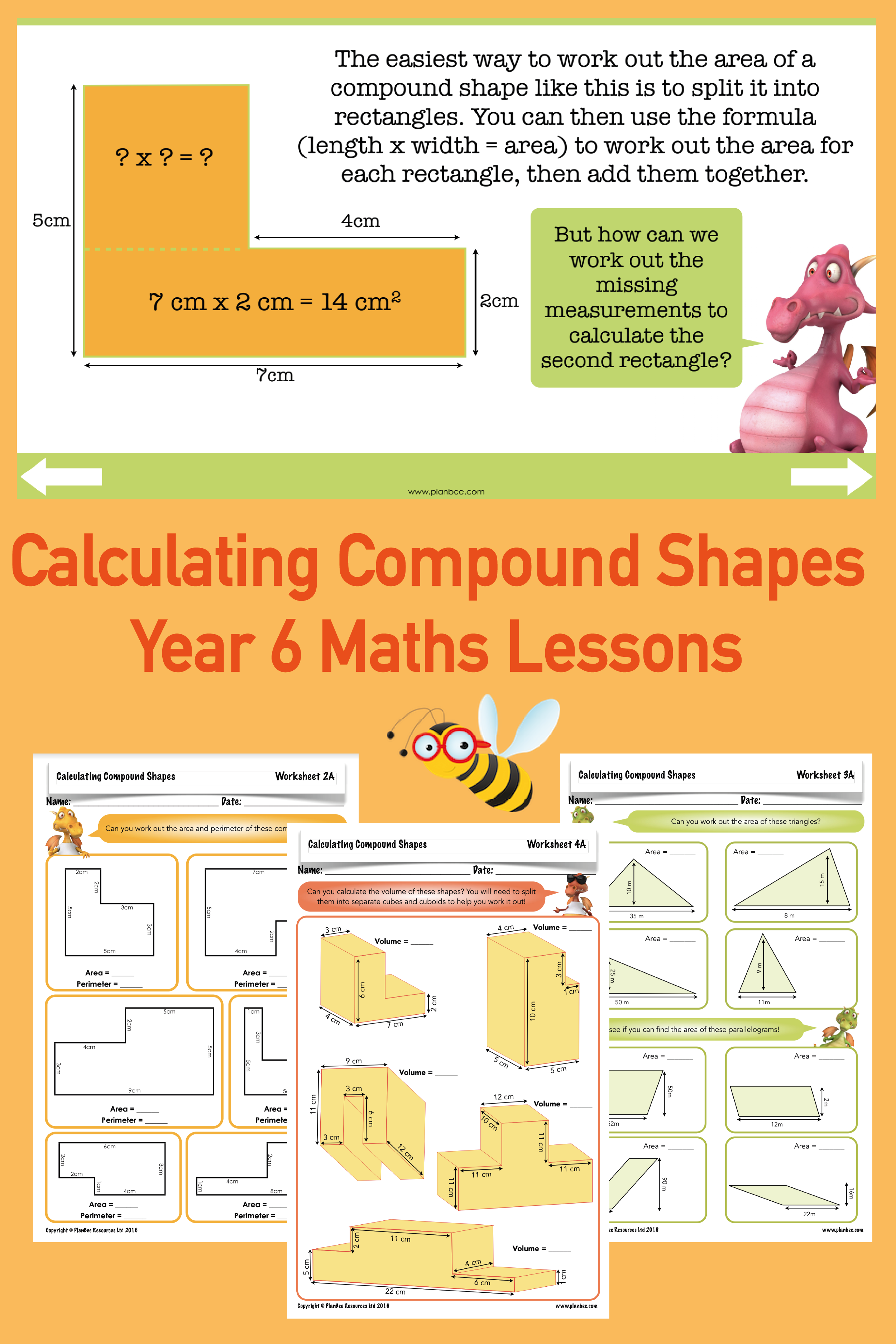 Calculating Compound Shapes