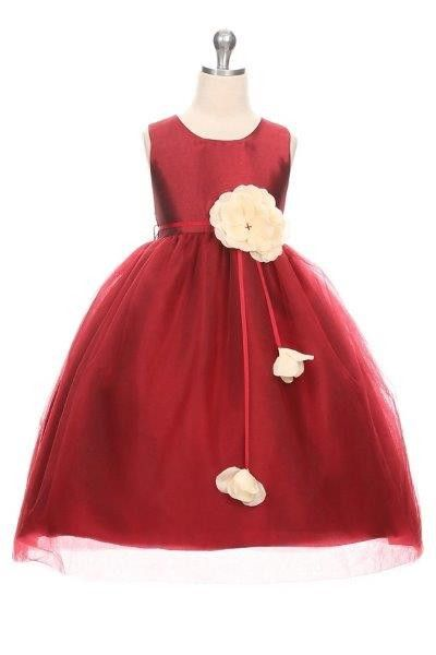 7a1c8d4ed2e4 Girls Holiday Dresses, Burgundy Flowers, Toddler Girl Dresses, Boys Style,  Latest Fashion