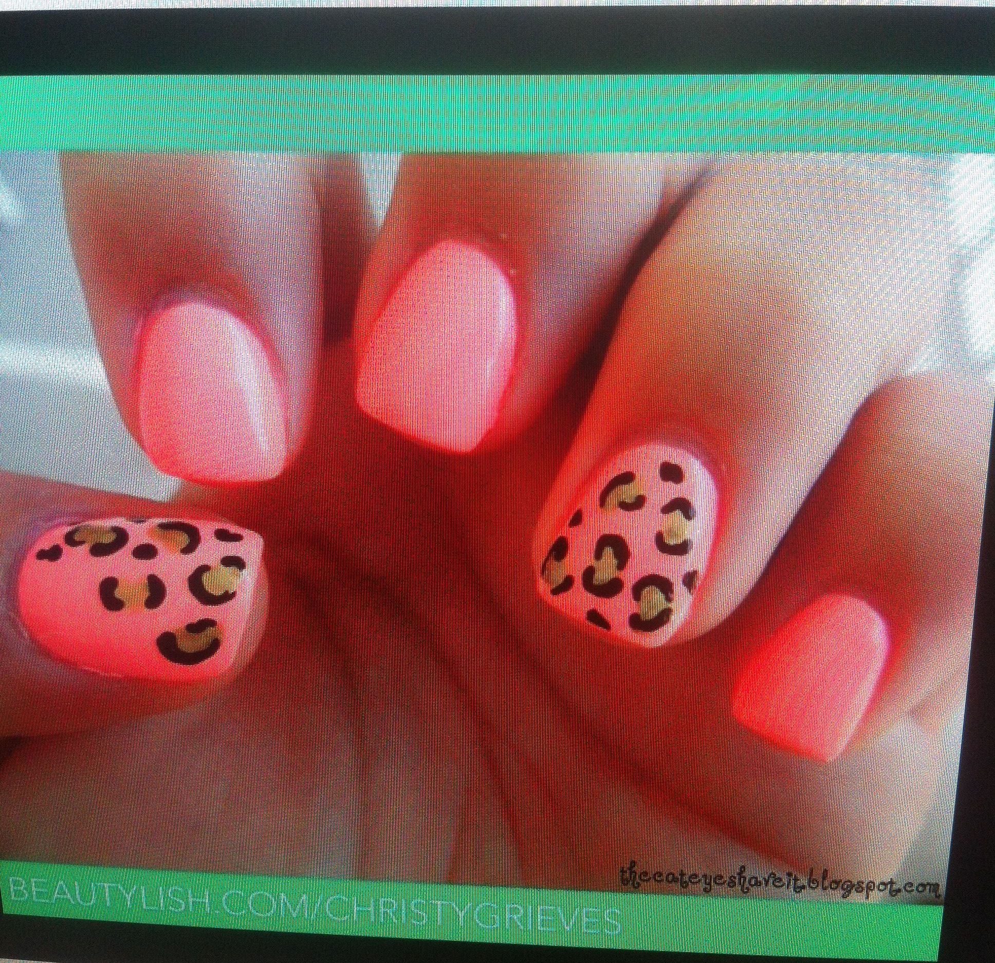 Leopard print nails   Shellac nail designs, Nails, Leopard