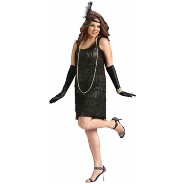 Adult Plus Size Flapper Costume | Flappers, Costumes and Halloween ...