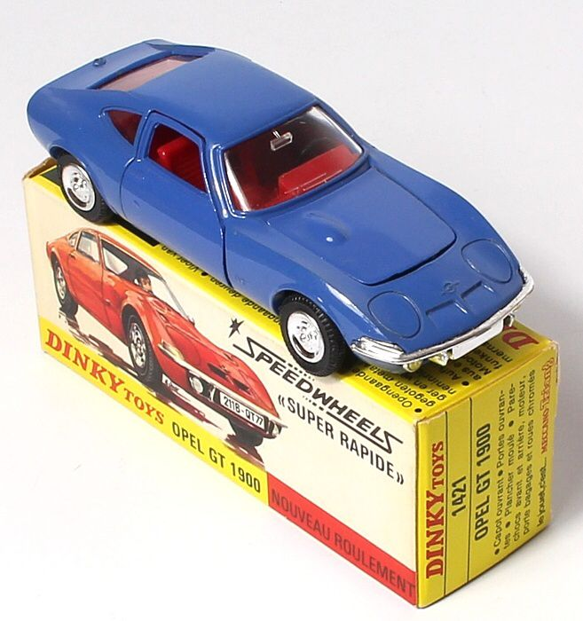 French Dinky Opel GT 1800. Pic. www.QualityDiecastToys.com