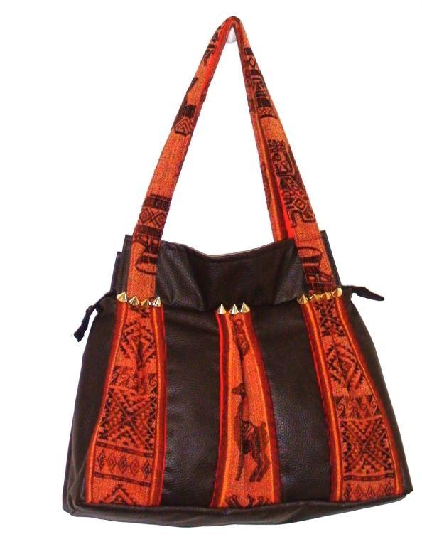 Tas Inkasisa van Peruuanse textiel