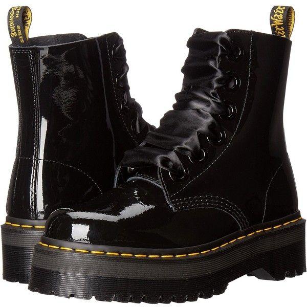 boots, Black platform boots, Black boots