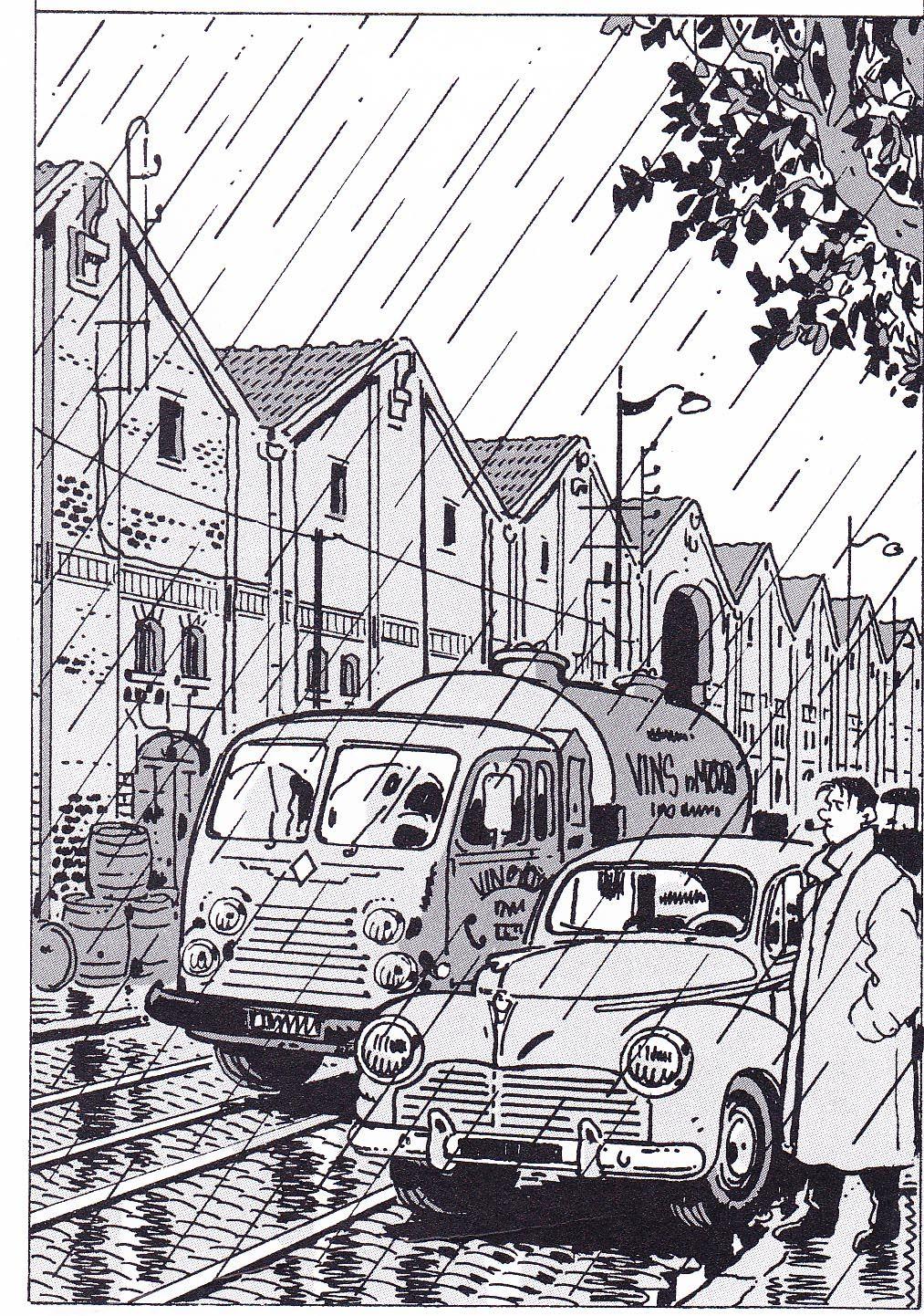 "alfiusdebux: "" Jacques Tardi "" | darrow | Pinterest | Comic, Rain ..."