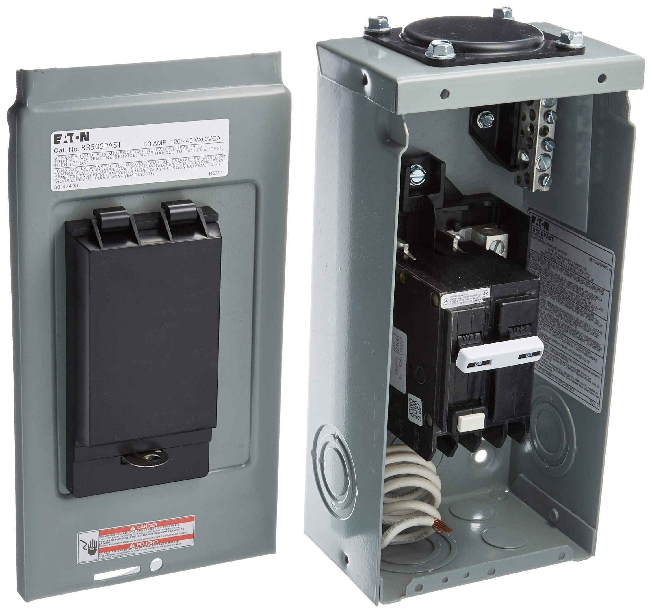 Bussmann CB285-120 Surface-Mount Circuit Breakers 120 Amps 1 per pack