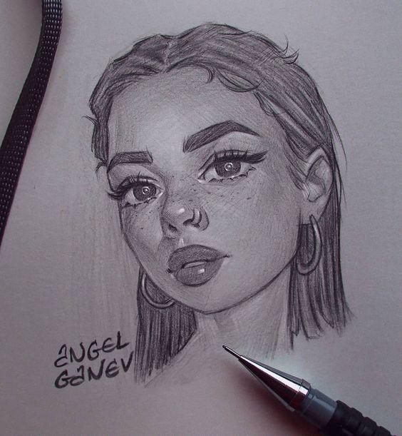 𝘱𝘪𝘯𝘵𝘦𝘳𝘦𝘴𝘵 𝘴𝘢𝘥𝘵𝘦𝘳𝘮𝘴 Art Sketches Pencil Art Drawings Sketches Pencil Girl Drawing Sketches