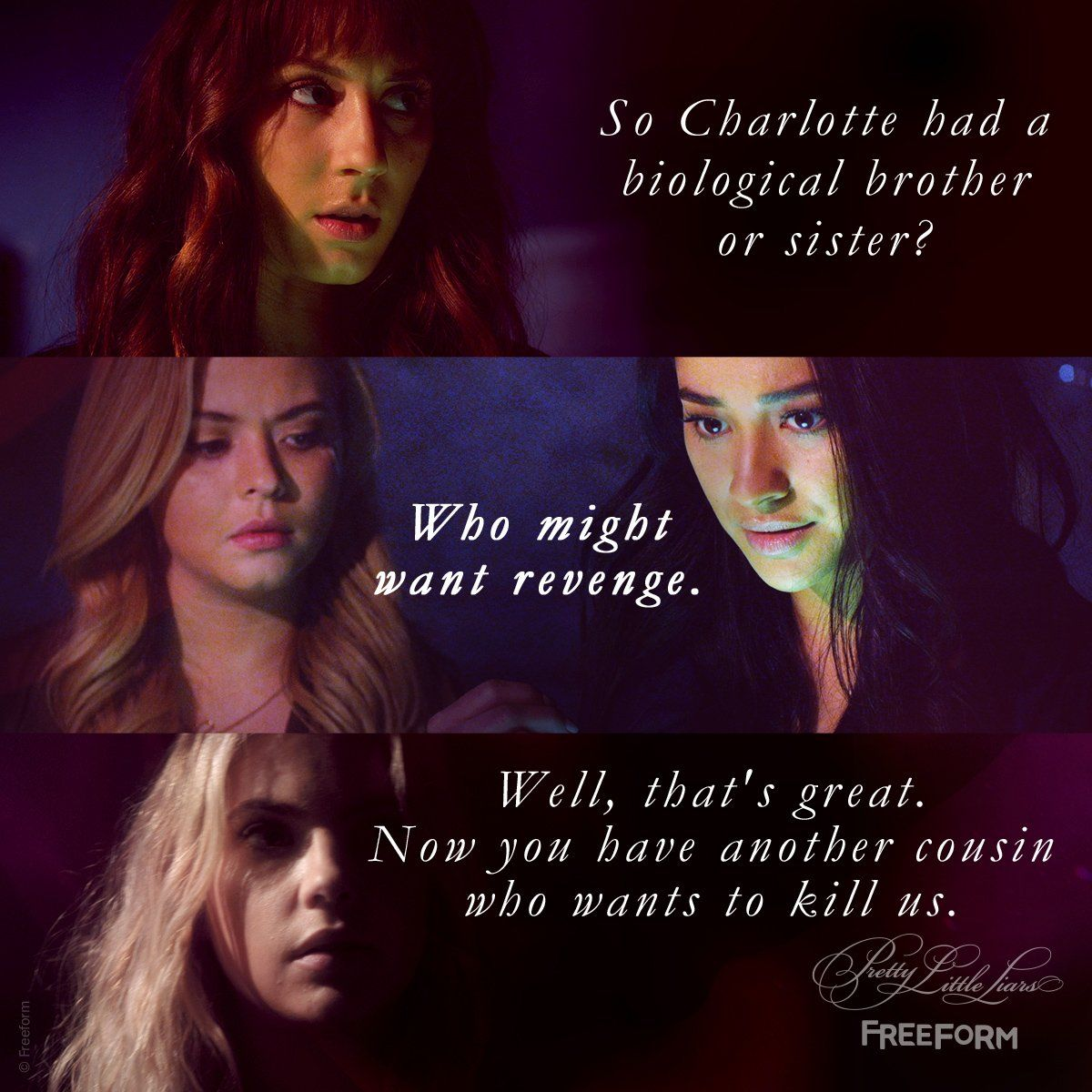 "S7 Ep7 ""Original G'A'ngsters"" - 😨 #PrettyLittleLiars"